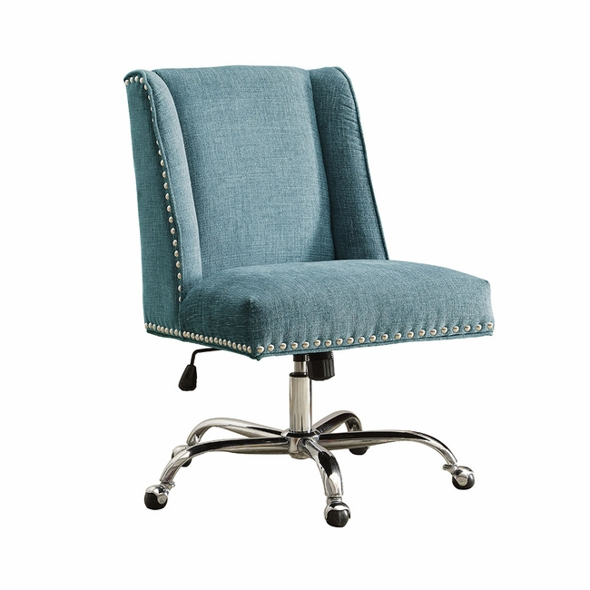 linon draper office chair 1