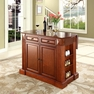 Drop Leaf Kitchen Island in Cherry - Crosley - KF30007CH