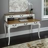 French Countryside White Executive Desk and Hutch - Home Styles - 5518-152