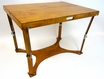 Handcrafted Folding Picnic Table in Warm Oak - Spiderlegs - CP3042-WO