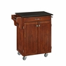 Kitchen Cart in Cheery with Black Granite - Home Styles - 9001-0074