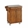 Kitchen Cart in Cottage Oak with Granite Top - Home Styles - 9001-0063