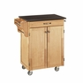 Kitchen Cart in Natural with Black Granite - Home Styles - 9001-0014