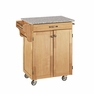 Kitchen Cart in Natural with Granite Top - Home Styles - 9001-0013
