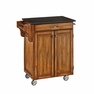Kitchen Cart in Oak with Black Granite - Home Styles - 9001-0064