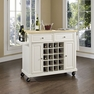 Kitchen Cart in White - Crosley - KF31001EWH