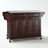 Kitchen Cart/Island in Mahogany - Crosley - KF30002EMA