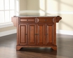 LaFayette Granite Top Kitchen Island - Crosley - KF30003BCH