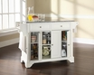 LaFayette Granite Top Kitchen Island - Crosley - KF30003BWH