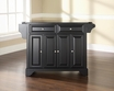 LaFayette Granite Top Kitchen Island - Crosley - KF30004BBK