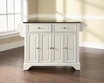 LaFayette Granite Top Kitchen Island - Crosley - KF30004BWH