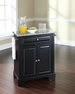 LaFayette Granite Top Portable Kitchen Island - Crosley - KF30023BBK