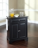 LaFayette Granite Top Portable Kitchen Island - Crosley - KF30024BBK
