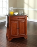 LaFayette Granite Top Portable Kitchen Island - Crosley - KF30024BCH