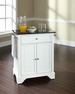LaFayette Granite Top Portable Kitchen Island - Crosley - KF30024BWH