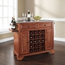 Lafayette Granite Top Wine Island in Cherry - Crosley - KF31003BCH