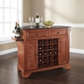 Lafayette Granite Top Wine Island in Cherry - Crosley - KF31004BCH