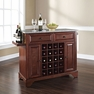 Lafayette Granite Top Wine Island in Mahogany - Crosley - KF31003BMA