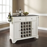Lafayette Granite Top Wine Island in White - Crosley - KF31004BWH