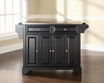 LaFayette Kitchen Island in Black - Crosley - KF30002BBK