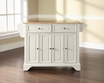 LaFayette Kitchen Island in White - Crosley - KF30001BWH