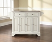 LaFayette Kitchen Island in White - Crosley - KF30002BWH