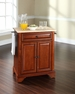LaFayette Portable Kitchen Island in Cherry - Crosley - KF30021BCH