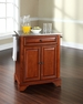 LaFayette Portable Kitchen Island in Cherry - Crosley - KF30022BCH