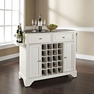 Lafayette Stainless Steel Wine Island in White - Crosley - KF31002BWH