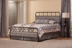 Langdon Bed Set - Full - Rails Included  - Hillsdale - 1861BFR