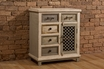 LaRose 5-Drawer 1-Door Cabinet W/ Chicken Wire - Hillsdale - 5732-886