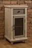 LaRose Drawer 1-Door Cabinet W/ Chicken Wire - Hillsdale - 5732-884