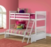 Lauren Bunk Bed - Twin/Full   - Hillsdale - 1528BBF