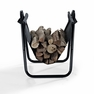 Logan Firewood Storage Carrier in Black - Crosley - CO9102A-BK