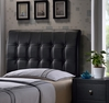 Lusso Full Size Headboard and Frame - Hillsdale - 1281HFR
