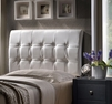 Lusso Full Size Headboard and Frame - Hillsdale - 1283HFR