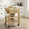 Marston Butcher Block Kitchen Cart - Crosley - CF3007-NA