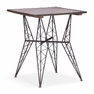 Metal Bistro Table Rustic Black - ZUO - 404224