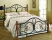 Milwaukee Wood Post Full Headboard and Footboard - Hillsdale - 1422BFP