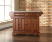 Newport Granite Top Kitchen Island in Cherry - Crosley - KF30003CCH