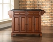 Newport Granite Top Kitchen Island in Cherry - Crosley - KF30004CCH