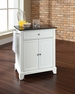 Newport Granite Top Portable Kitchen Island in White - Crosley - KF30024CWH