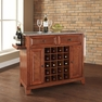 Newport Granite Top Wine Island in Cherry - Crosley - KF31003CCH