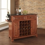 Newport Granite Top Wine Island in Cherry - Crosley - KF31004CCH