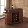 Newport Granite Top Wine Island in Mahogany - Crosley - KF31003CMA