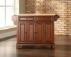 Newport Kitchen Island in Cherry - Crosley - KF30001CCH