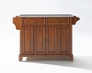 Newport Kitchen Island in Cherry - Crosley - KF30002CCH
