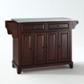 Newport Kitchen Island in Mahogany - Crosley - KF30002CMA