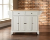 Newport Kitchen Island in White - Crosley - KF30001CWH