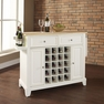 Newport Kitchen Island in White - Crosley - KF31001CWH